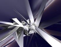 kristallavstånd Royaltyfri Fotografi