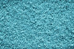 Kristallbeschaffenheit von den Mineralien der azurblauen Farbe Lizenzfreie Stockfotografie