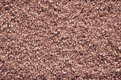 Kristallbeschaffenheit von den Mineralien der Terrakottafarbe Stockfoto