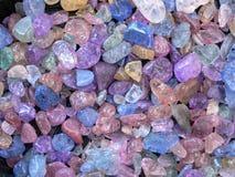 Kristalle stockfotos