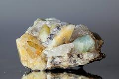 Kristalle des Topases Lizenzfreies Stockbild