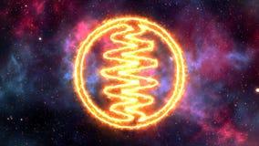Kristalle von der göttlichen Wirklichkeit - ANA - Licht stock footage