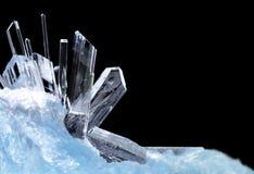 Kristallen Royalty-vrije Stock Afbeelding