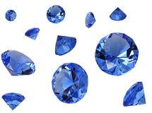 Kristallen Royalty-vrije Stock Foto's