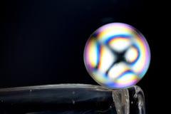 Kristallen bol Stock Afbeeldingen