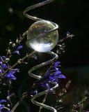 Kristallen bol stock afbeelding
