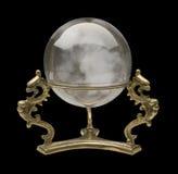 Kristallen bol Royalty-vrije Stock Foto's