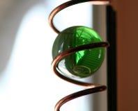 Kristallen bol Royalty-vrije Stock Fotografie