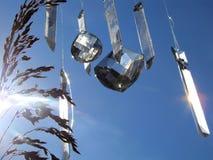 Kristallen in de hemel Royalty-vrije Stock Afbeelding
