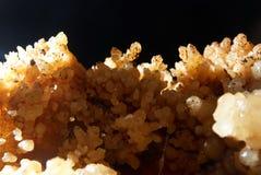 Kristallen in het hol Stock Foto