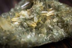Kristallen van kwarts Royalty-vrije Stock Foto's