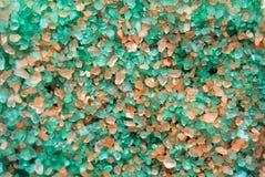 Kristallen van overzees zout Stock Afbeeldingen