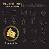 Kristallene Symmetrie Stockbilder