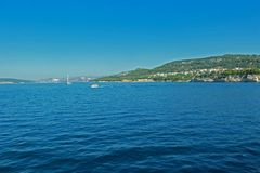 Kristallener Berg Kroatien des Wassers Lizenzfreie Stockfotos