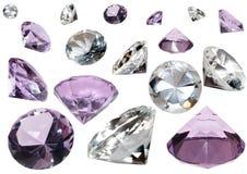 kristaller Arkivfoto