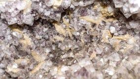Kristaller av fluorite Royaltyfri Fotografi
