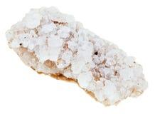 Kristaller av havet som är salta från död havskust Arkivbild