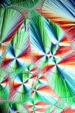Kristaller av vitamin C, askorbinsyra Royaltyfria Bilder