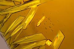 Kristaller för Ferric klorid arkivfoton