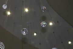 Kristaller från över Royaltyfria Bilder