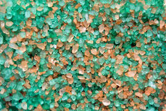 kristaller saltar havet Arkivbilder
