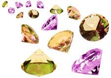 kristallexponeringsglas royaltyfri foto