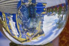 Kristallglas in Thailand stockbild