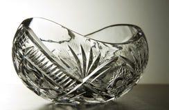 Kristallglasschüssel Lizenzfreie Stockfotos