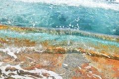 Kristallijn water stock afbeelding