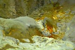 Kristallisatie van mineralen royalty-vrije stock foto