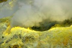 Kristallisatie van mineralen stock fotografie