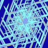 kristallisation Stockfoto