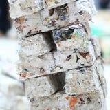 Kristallisation - Papierskulptur Stockbild