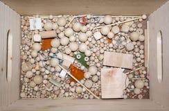 Kristallisation - Skulptur Lizenzfreie Stockbilder