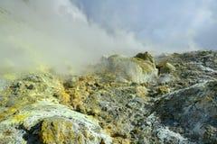 Kristallisation von Mineralien lizenzfreies stockfoto