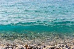 Kristallklart havvatten Fotografering för Bildbyråer