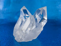 kristallkvarts Arkivbild