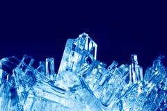 Kristallmakro arkivbild