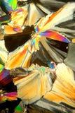Kristallmuster Lizenzfreies Stockbild
