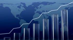 Kristallreport Stockfoto