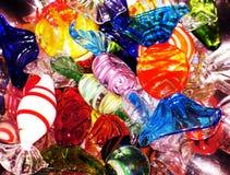 Kristallsüßigkeiten stockbilder