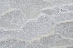 Kristallsalz von See Elton lizenzfreie stockbilder