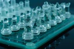 Kristallschach lizenzfreies stockbild
