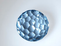 kristallsnittmagi Arkivfoton