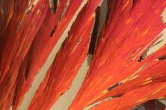 Kristallstrucure eines festen Mittels stockfoto