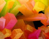 Kristallwürfel Stockfotografie