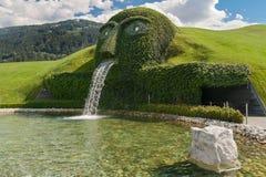 Kristallwelten fountain Stock Photos