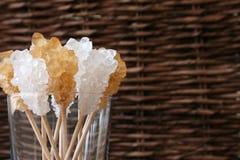 Kristallzucker Stockfoto