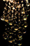 Kristalparels stock afbeeldingen