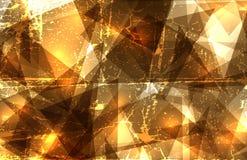 Kristalsamenstelling Royalty-vrije Illustratie